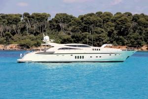079) Milliardärsboot, tolle Wasserfarben 79